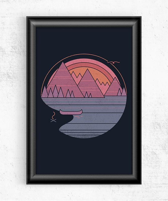 The Mountains Are Calling Posters by Rick Crane - Pixel Empire