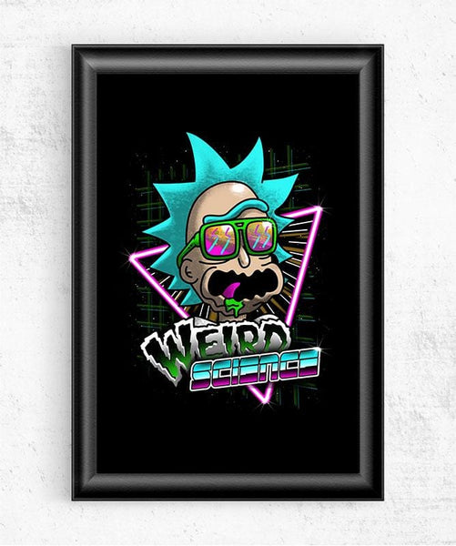 Weird Science Posters by Vincent Trinidad - Pixel Empire