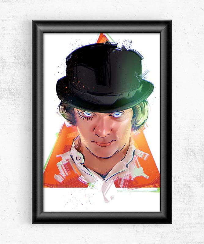 Clockwork Orange Posters by Nikita Abakumov - Pixel Empire