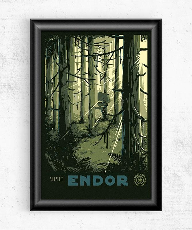 Visit Endor Posters by Mathiole - Pixel Empire