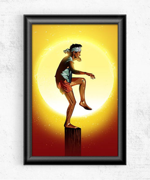 Karate Kid Posters by Nikita Abakumov - Pixel Empire