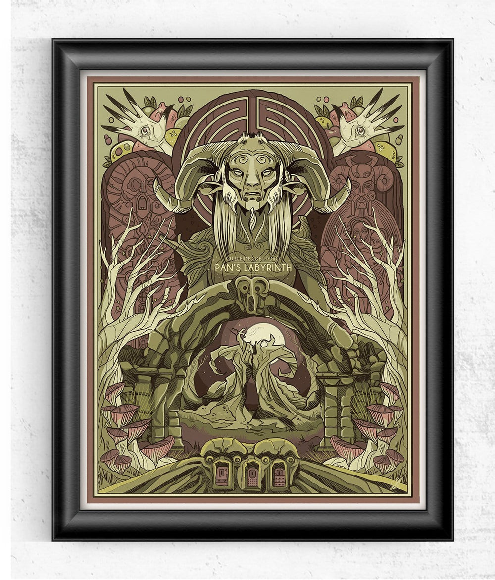 Pan Labyrinth - Guillermo del Toro Limited Print Posters by Beverly Arce - Pixel Empire