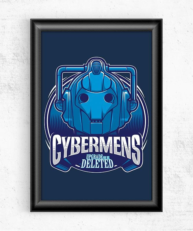 Doctor Who Villains - Cybermens Posters by StudioM6 - Pixel Empire