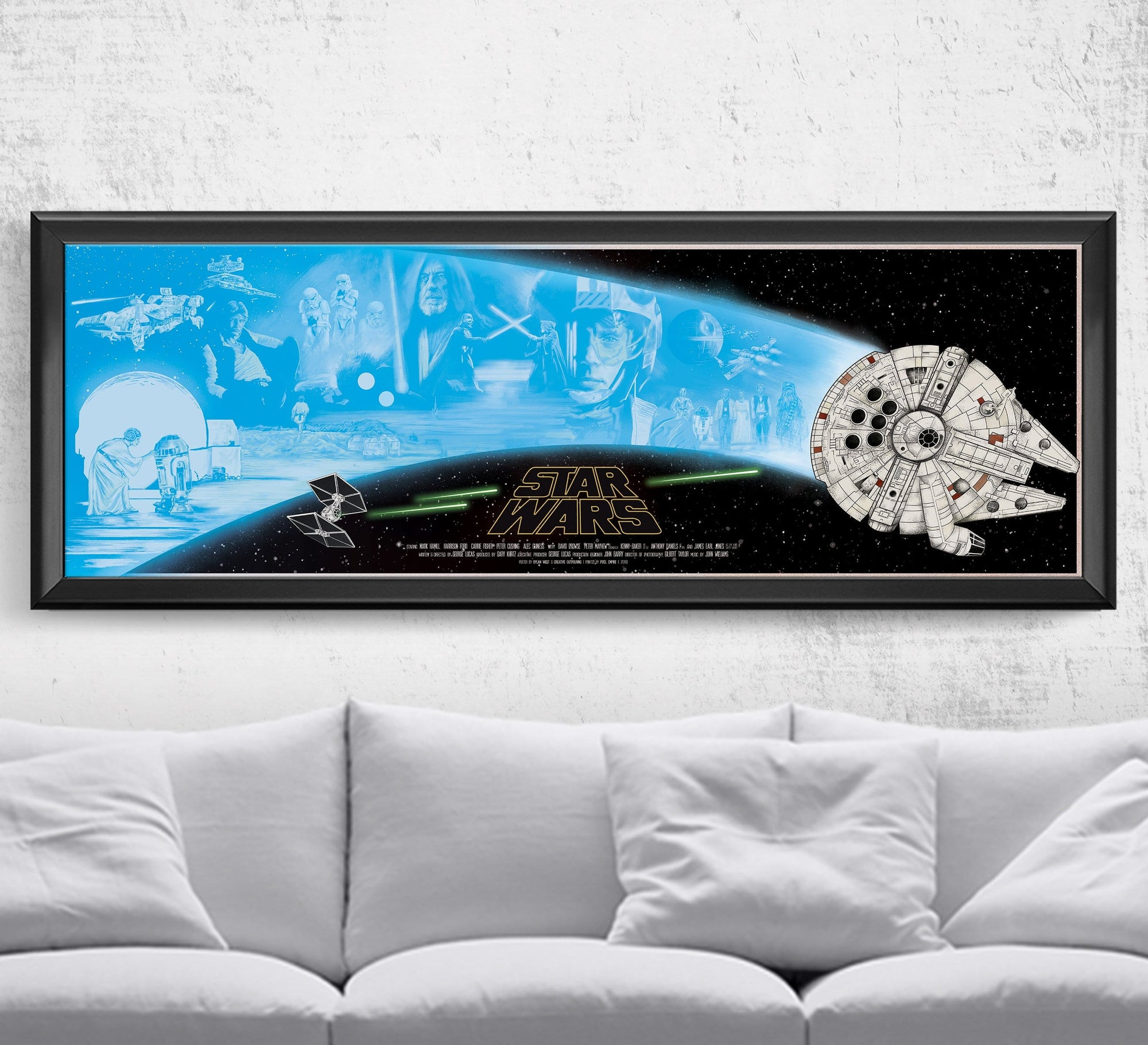 Star Wars - A New Hope - Limited Edition Print Posters by Dylan West - Pixel Empire