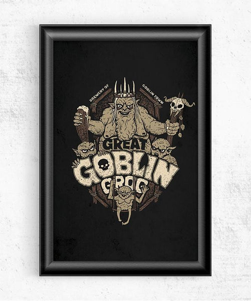 Great Goblin Grog Posters by Cory Freeman Design - Pixel Empire