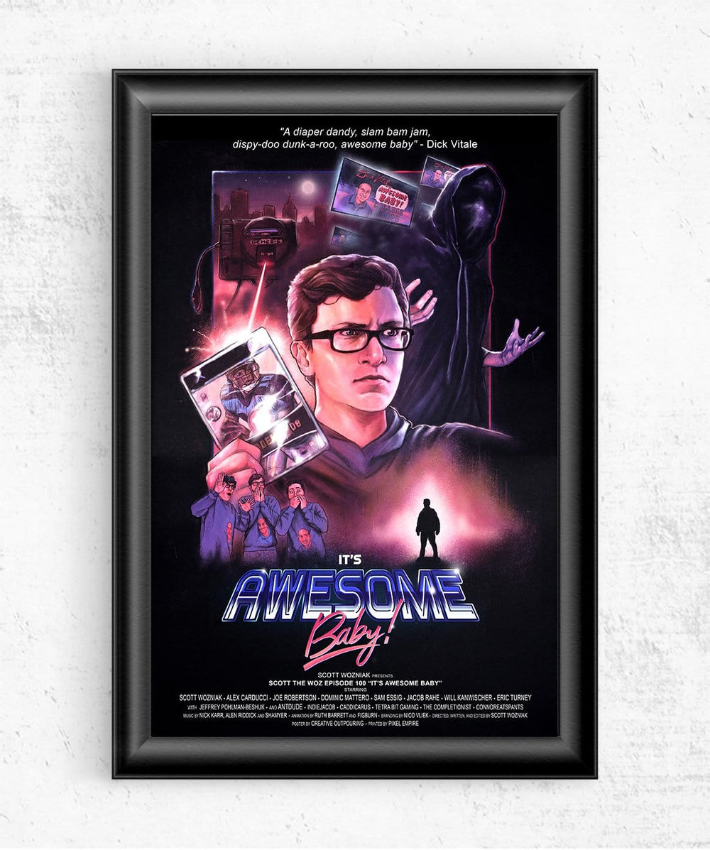 It's Awesome Baby Posters by Scott the Woz - Pixel Empire