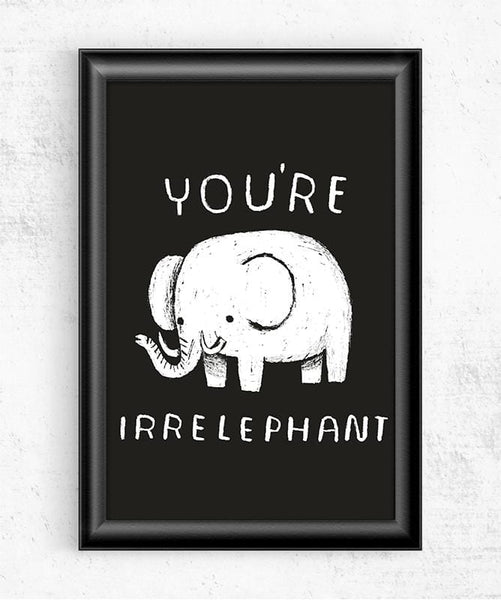 Irrelephant Posters by Louis Roskosch - Pixel Empire