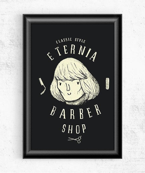 Eternia Barbers Posters by Louis Roskosch - Pixel Empire