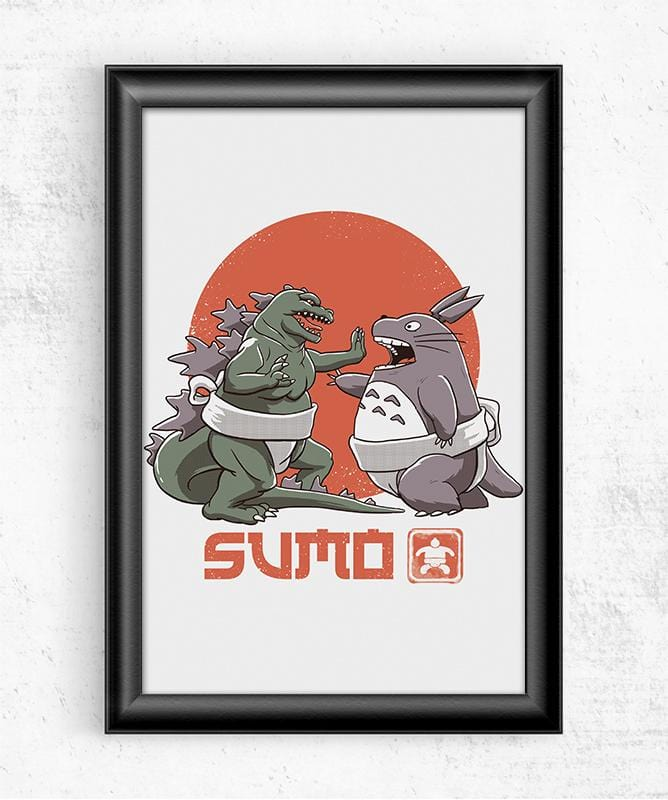 Sumo Pop Posters by Vincent Trinidad - Pixel Empire