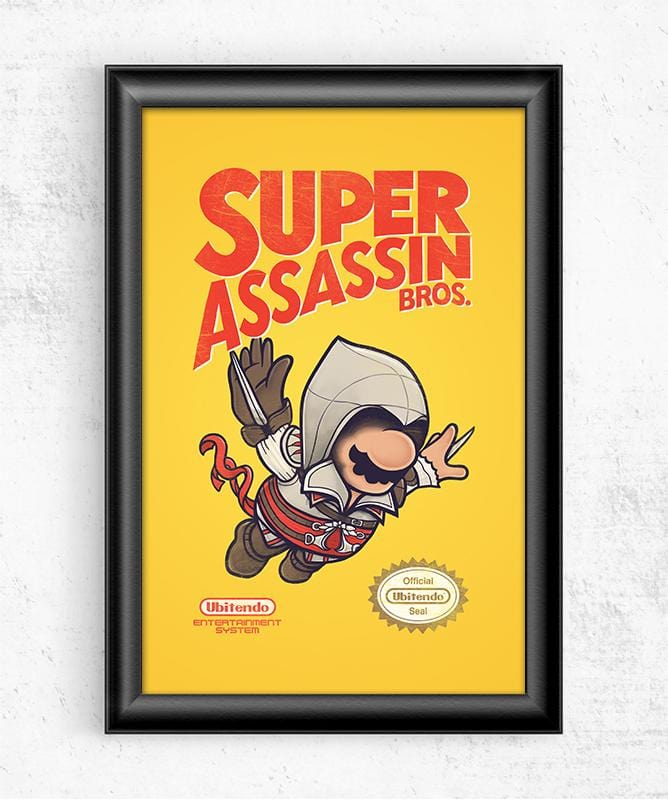 Super Assassin Bros Posters by Mathijs Vissers - Pixel Empire