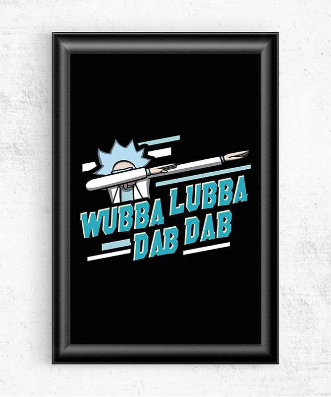 Wubba Lubba Dab Dab Posters by Olipop - Pixel Empire