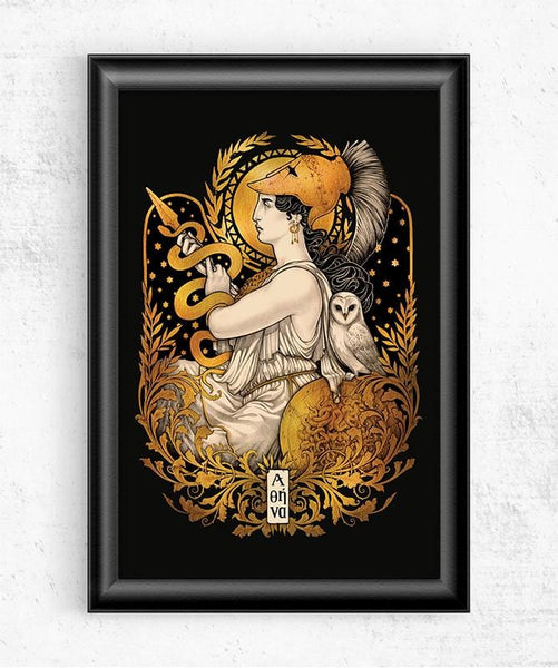 Athena Posters by Medusa Dollmaker - Pixel Empire