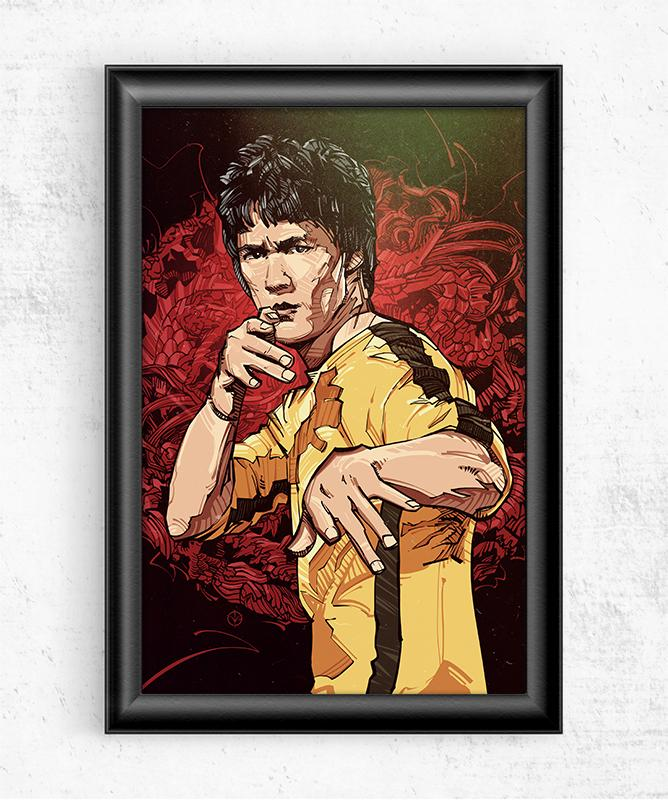 Enter The Dragon Posters by Nikita Abakumov - Pixel Empire
