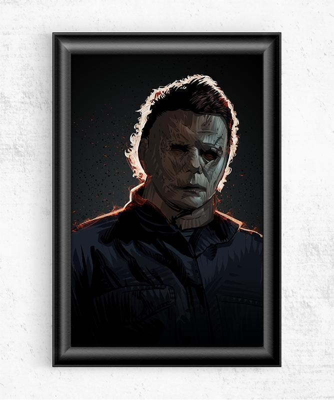 Michael Myers Posters by Nikita Abakumov - Pixel Empire