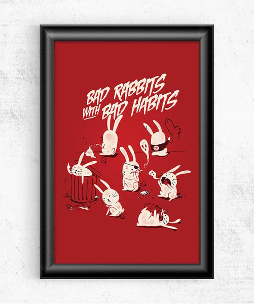 Bad Rabbits Posters by Mathiole - Pixel Empire