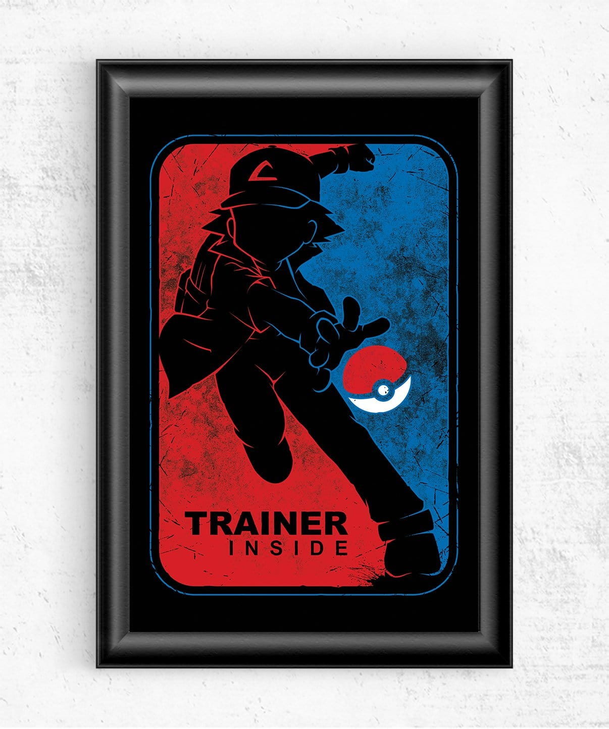 Trainer Inside Posters by StudioM6 - Pixel Empire