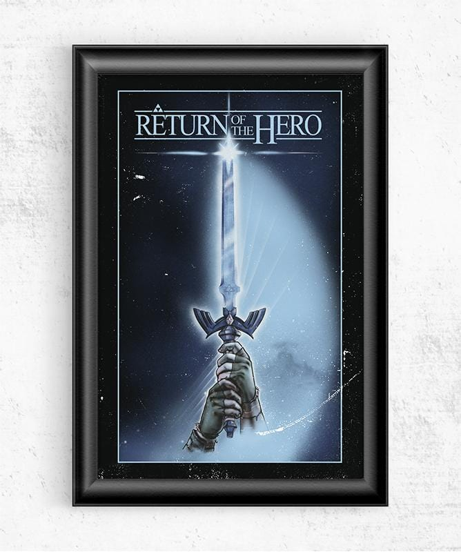 Return of the Hero Posters by Creative Outpouring - Pixel Empire