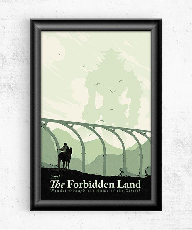 Visit the Forbidden Land Posters by Mathiole - Pixel Empire