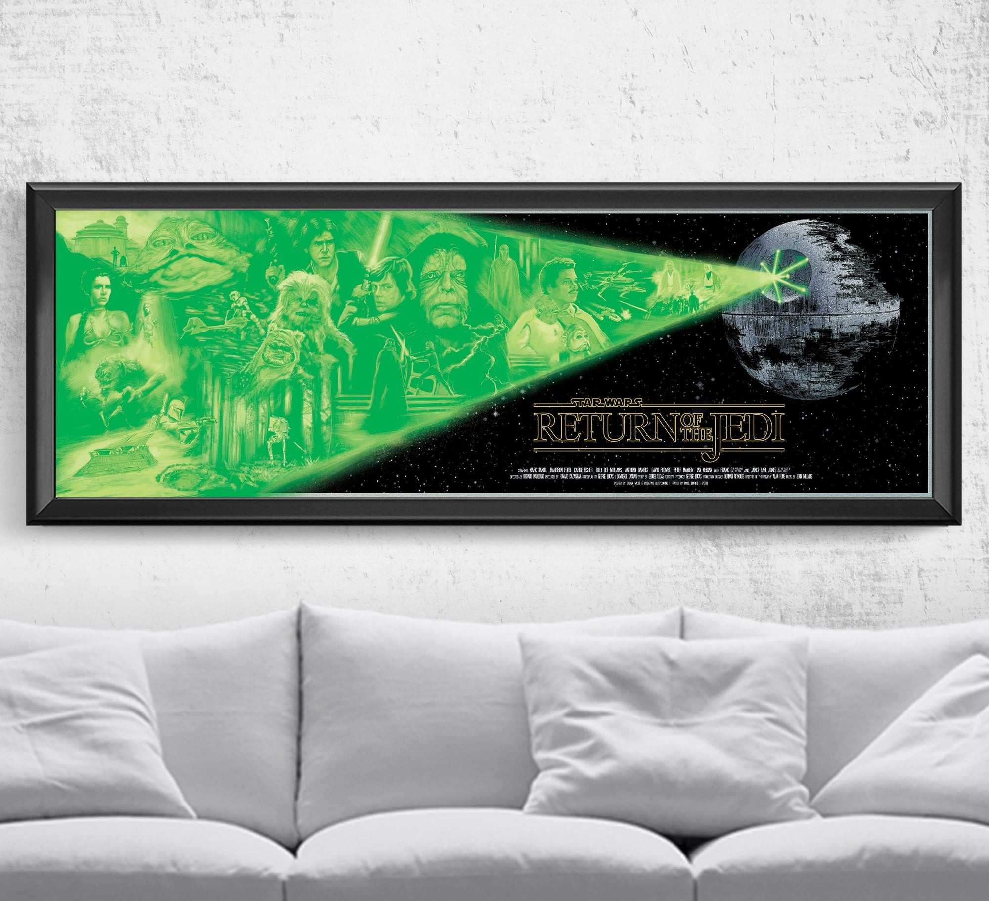 Star Wars - Return of the Jedi - Limited Edition Print Posters by Dylan West - Pixel Empire