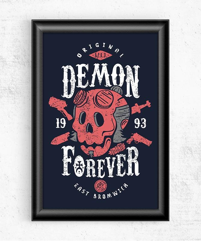 Demon Forever Posters by Olipop - Pixel Empire
