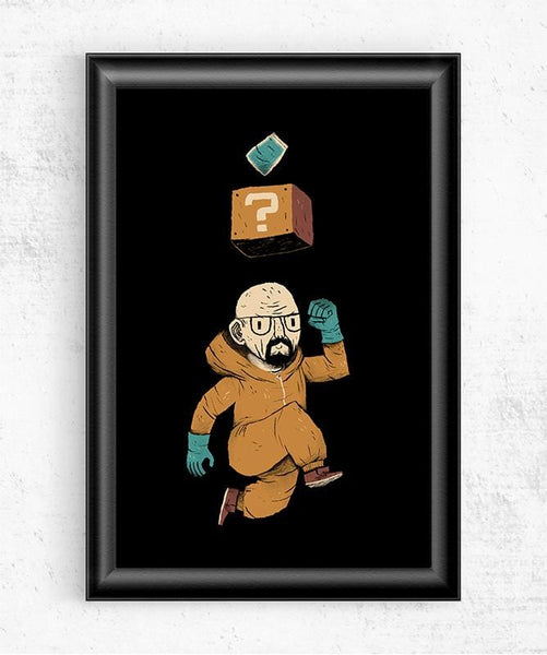Heisenberg Power Up Posters by Louis Roskosch - Pixel Empire
