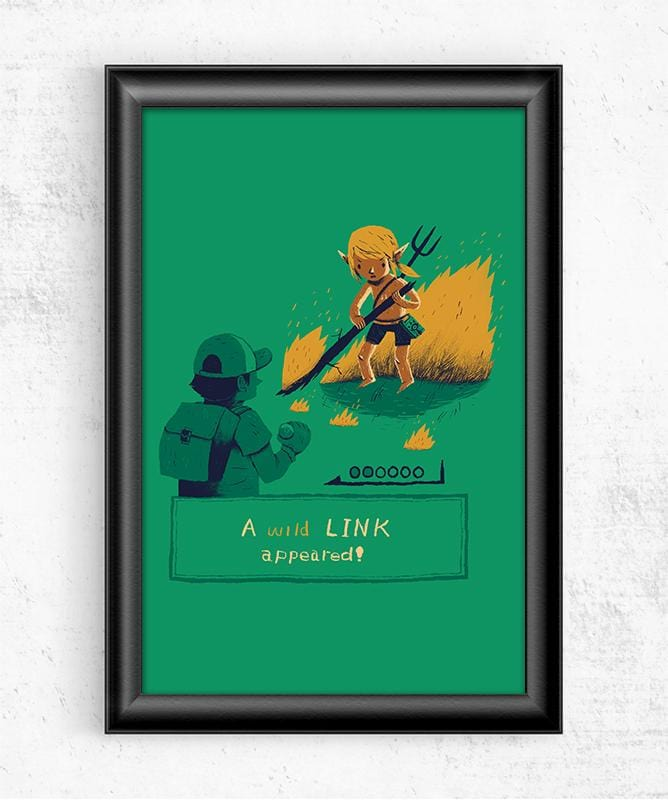 Wild Link Posters by Louis Roskosch - Pixel Empire