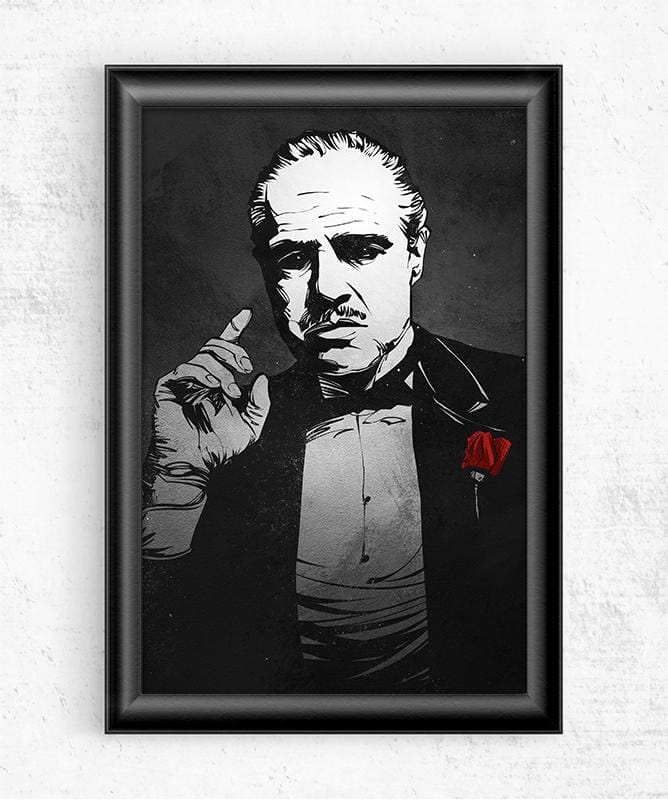 The Godfather Posters by Nikita Abakumov - Pixel Empire