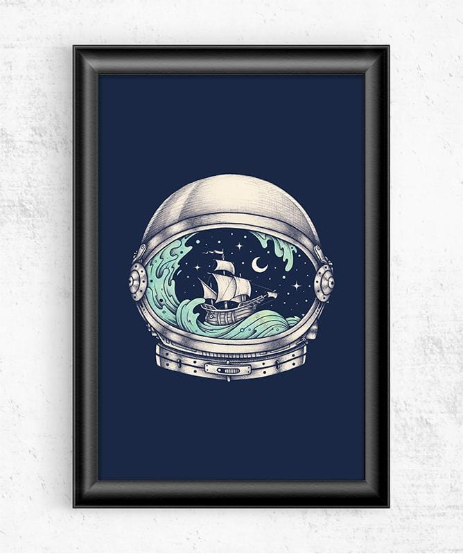 Spaceship Posters by Enkel Dika - Pixel Empire