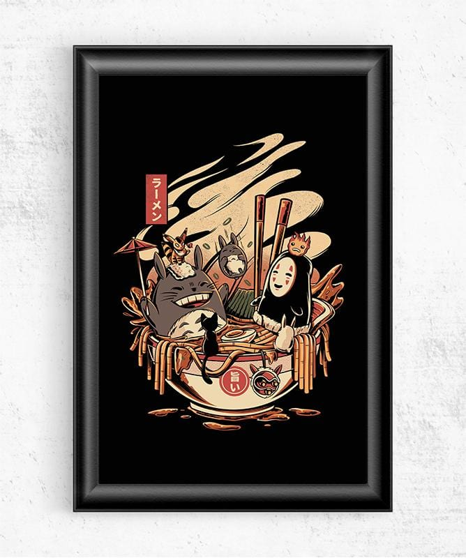 Ramen Pool Party Posters by Ilustrata - Pixel Empire