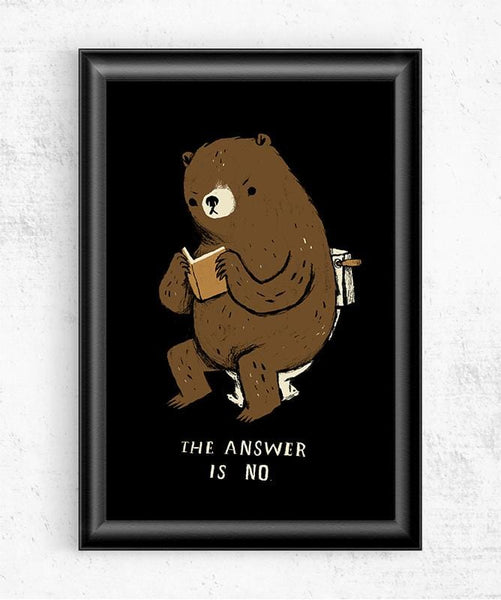 Does a Bear? Posters by Louis Roskosch - Pixel Empire