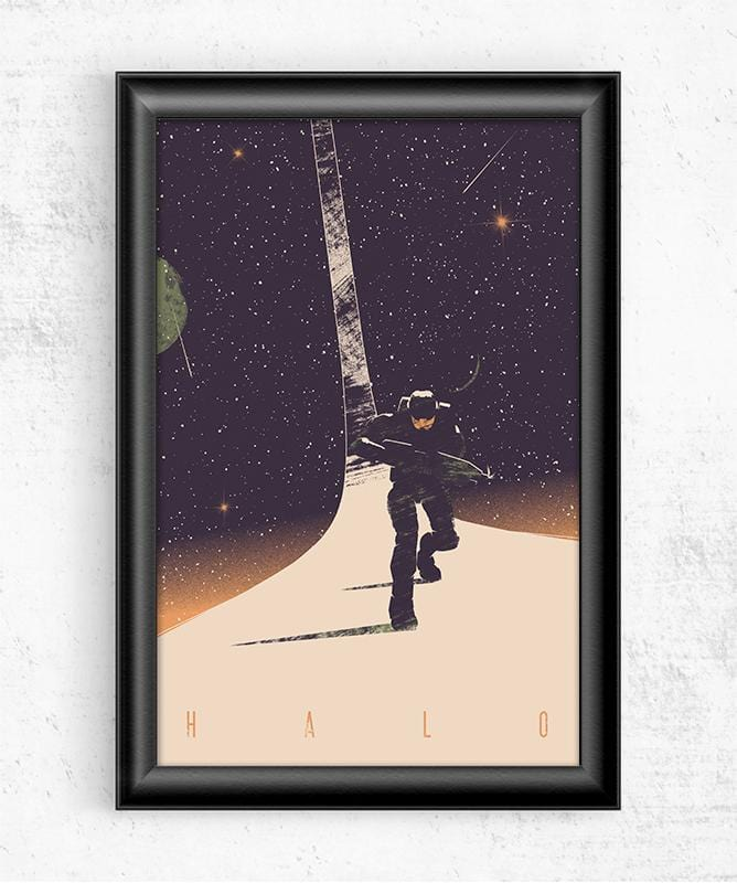 Halo Posters by Felix Tindall - Pixel Empire