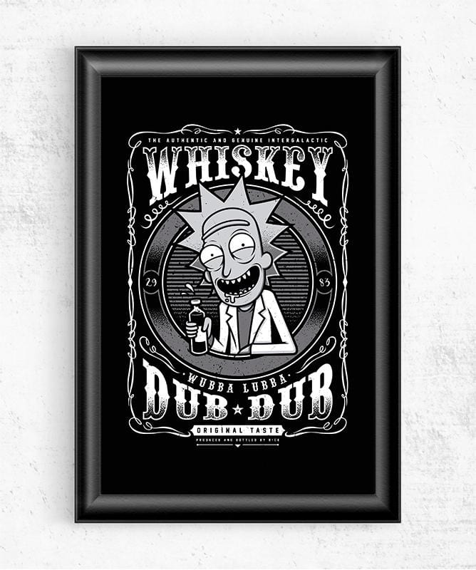 Whiskey Dub Dub Posters by StudioM6 - Pixel Empire