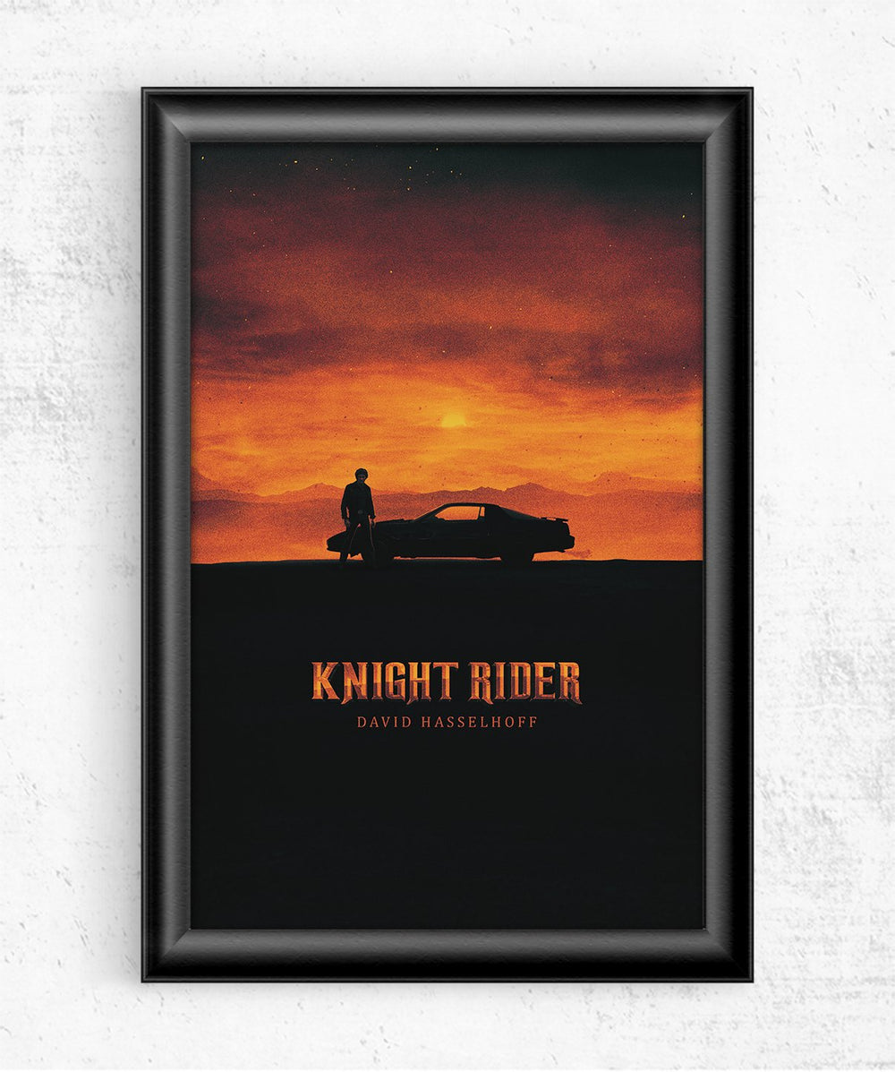 Knight Rider Posters by Mbdsgns - Pixel Empire