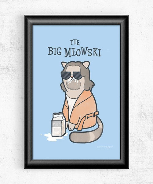 The Big Meowski Posters by Anna-Maria Jung - Pixel Empire