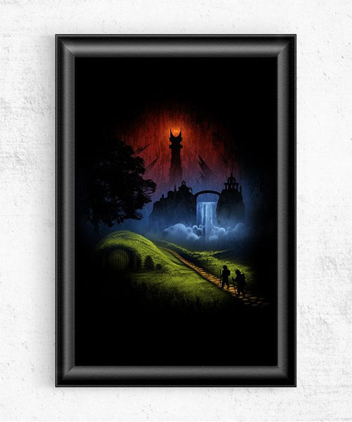 Over the Hill Posters by Alyn Spiller - Pixel Empire