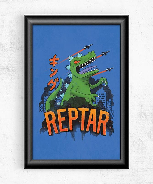 Reptar Posters by Cory Freeman Design - Pixel Empire