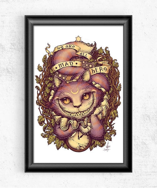 Cheshire Cat Posters by Medusa Dollmaker - Pixel Empire