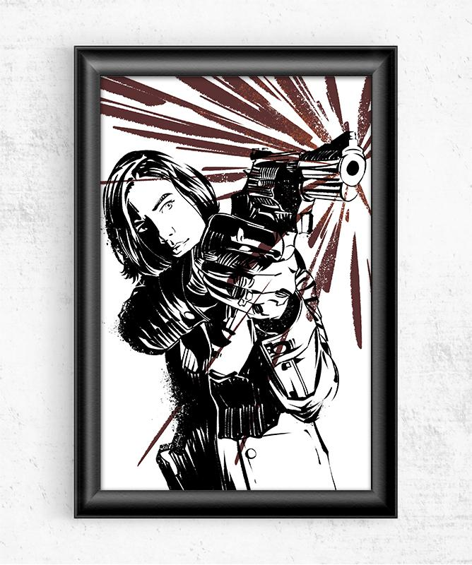 The Walking Dead Maggie Posters by Nikita Abakumov - Pixel Empire