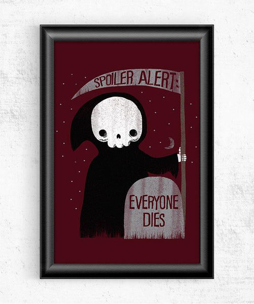 Spoiler Alert Posters by Perry Beane - Pixel Empire
