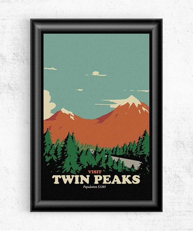 Visit Twin Peaks Posters by Mathiole - Pixel Empire