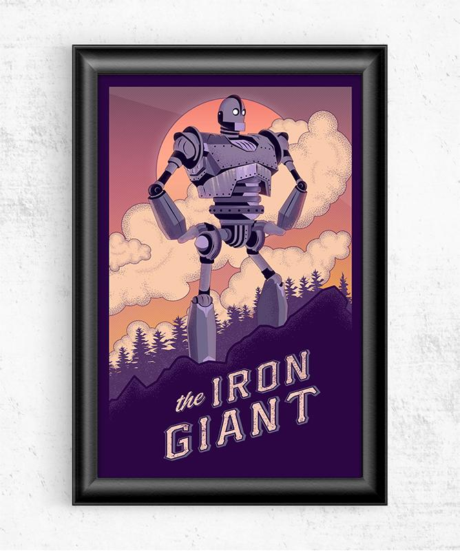 The Iron Giant Posters by The Usher Designs - Pixel Empire