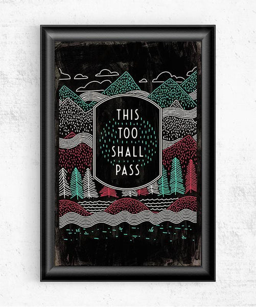 This Too Shall Pass Posters by Ronan Lynam - Pixel Empire