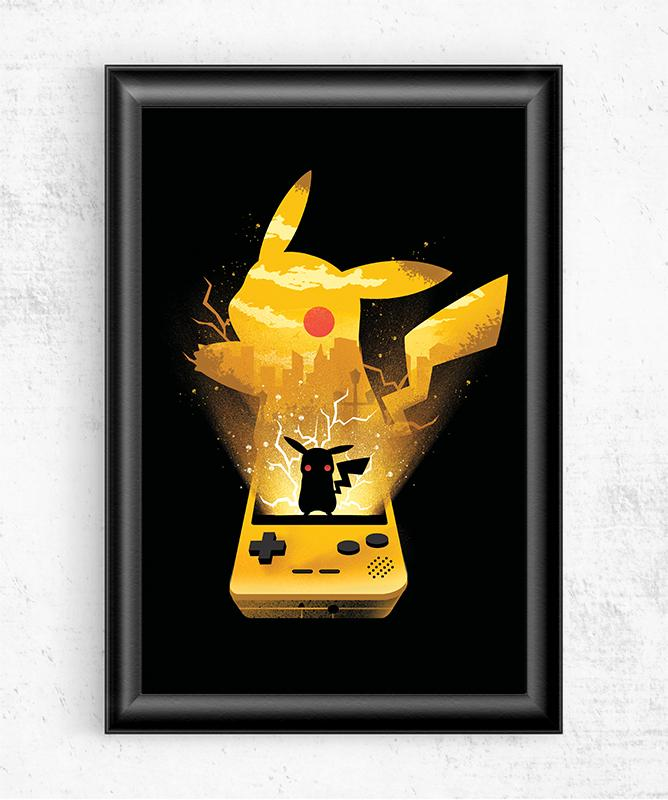 Pokemon Yellow Posters by Dan Elijah Fajardo - Pixel Empire