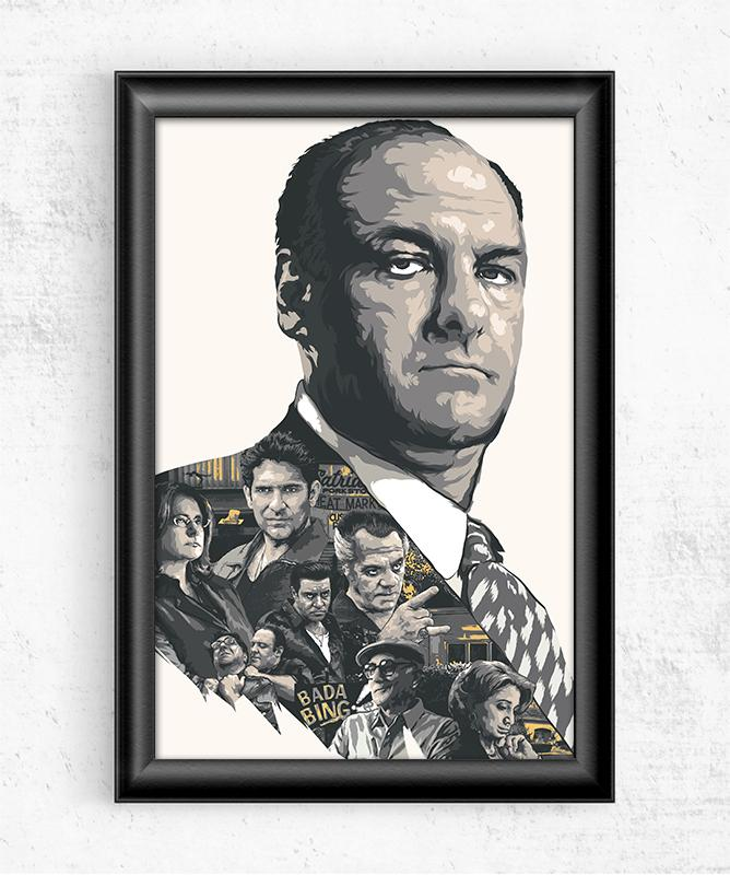 The Sopranos Posters by The Usher Designs - Pixel Empire