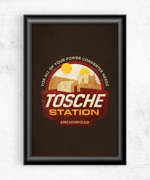 Tosche Station Posters by Cory Freeman Design - Pixel Empire