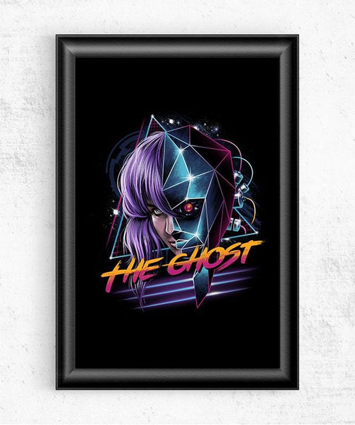 Cyber Ghost Posters by Vincent Trinidad - Pixel Empire