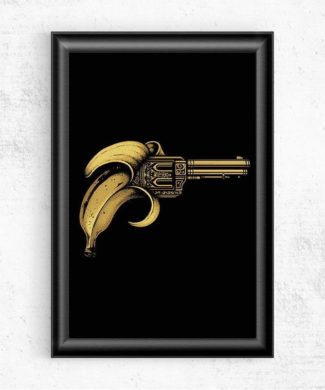 Banana Gun Posters by Enkel Dika - Pixel Empire