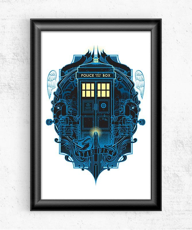It's Bigger on the Inside Posters by StudioM6 - Pixel Empire