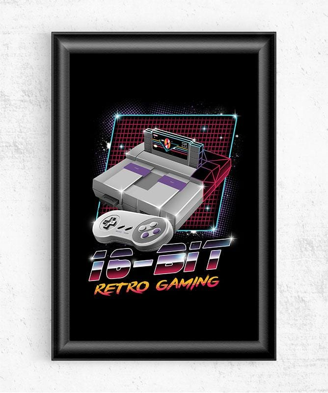 16-Bit Retro Gaming Posters by Vincent Trinidad - Pixel Empire