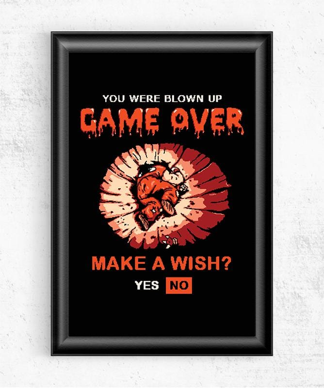 Game Over Yamcha Posters by COD Designs - Pixel Empire